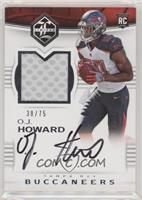 Rookie Patch Autographs - O.J. Howard #/75