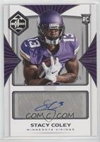 Rookie Autographs - Stacy Coley #/35