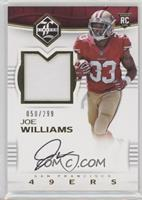 Rookie Patch Autographs - Joe Williams #/299