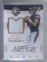 Rookie Patch Autographs - Mitchell Trubisky #/149