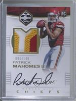 Rookie Patch Autographs - Patrick Mahomes II /149