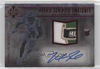 Rookie Scripted Swatches - Malachi Dupre #1/10