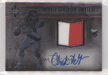 2017 Panini Majestic - [Base] #108 - Rookie Scripted Swatches - Chad Kelly /199