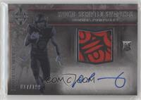 Rookie Scripted Swatches - Donnel Pumphrey /199