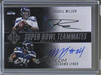 Marshawn Lynch, Michael Bennett, Richard Sherman, Russell Wilson /3