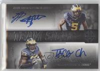 Jabrill Peppers, Taco Charlton #/99