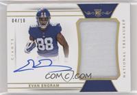 Rookie Patch Autographs - Evan Engram /10