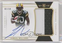 Rookie Patch Autographs - Jamaal Williams #/10