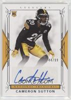 Rookie Signatures - Cameron Sutton /99