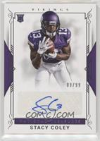 Rookie Signatures - Stacy Coley #/99
