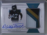 Rookie Patch Autographs - Dede Westbrook [Noted] #89/99