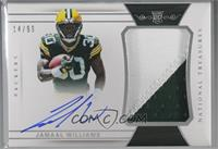 Rookie Patch Autographs - Jamaal Williams [Noted] #/99