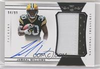 Rookie Patch Autographs - Jamaal Williams #/99
