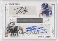 Chad Hansen, Davis Webb /99