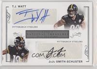 JuJu Smith-Schuster, T.J. Watt /49