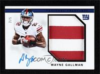 Wayne Gallman #/5
