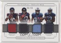 Deshaun Watson, D'onta Foreman, Corey Davis, Taywan Taylor #/99