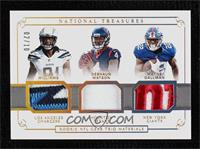 Wayne Gallman, Deshaun Watson, Mike Williams #/10