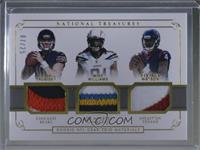 Mike Williams, Mitchell Trubisky, Deshaun Watson #/25