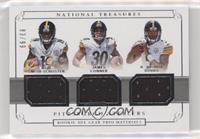 James Conner, JuJu Smith-Schuster, R. Joshua Dobbs /99