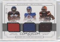 Evan Engram, David Njoku, O.J. Howard /99