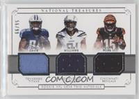 Corey Davis, Mike Williams, John Ross III #/99