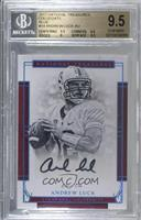 Signatures - Andrew Luck /1 [BGS 9.5 GEM MINT]