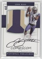 College Signatures - John Ross III #/25