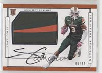 College Materials Signatures - Stacy Coley #/99