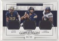 James Conner, Nathan Peterman, Tyler Boyd #/99