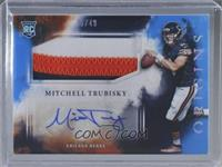 Rookie Jumbo Patch Autographs - Mitchell Trubisky /49