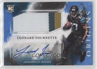 Rookie Jumbo Patch Autographs - Leonard Fournette #/49