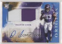 Rookie Jumbo Patch Autographs - Dalvin Cook #/49