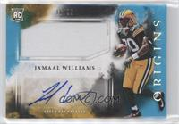 Rookie Jumbo Patch Autographs - Jamaal Williams #/25
