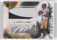 Rookie Jumbo Patch Autographs - R. Joshua Dobbs