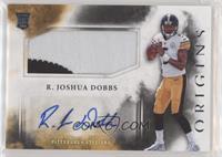 Rookie Jumbo Patch Autographs - R. Joshua Dobbs