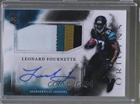 Rookie Jumbo Patch Autographs - Leonard Fournette