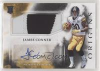 Rookie Jumbo Patch Autographs - James Conner