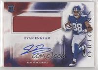 Rookie Jumbo Patch Autographs - Evan Engram