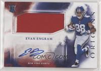 Rookie Jumbo Patch Autographs - Evan Engram