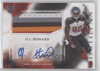 Rookie Jumbo Patch Autographs - O.J. Howard