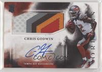 Rookie Jumbo Patch Autographs - Chris Godwin