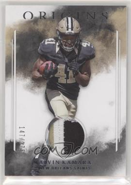 2017 Panini Origins - Rookie Patches #RP-AK - Alvin Kamara /175
