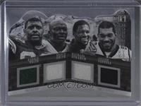 Bruce Smith, Julius Peppers, Michael Strahan, Reggie White /15 [NearMint&…