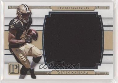 2017 Panini Pantheon - Mammoth Materials #MM-AK - Alvin Kamara /99