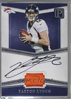 Paxton Lynch [Noted] #/25