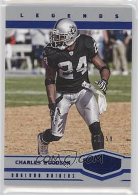 2017 Panini Plates & Patches - [Base] - Blue #111 - Legends - Charles Woodson /50