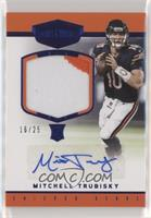 Rookie Patch Autographs - Mitchell Trubisky /25