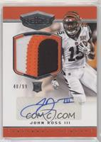 Rookie Patch Autographs - John Ross III /99