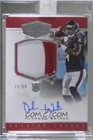 Rookie Patch Autographs - Deshaun Watson /50 [Rerelease]